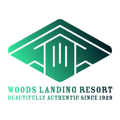 Woods Landing Resort logo
